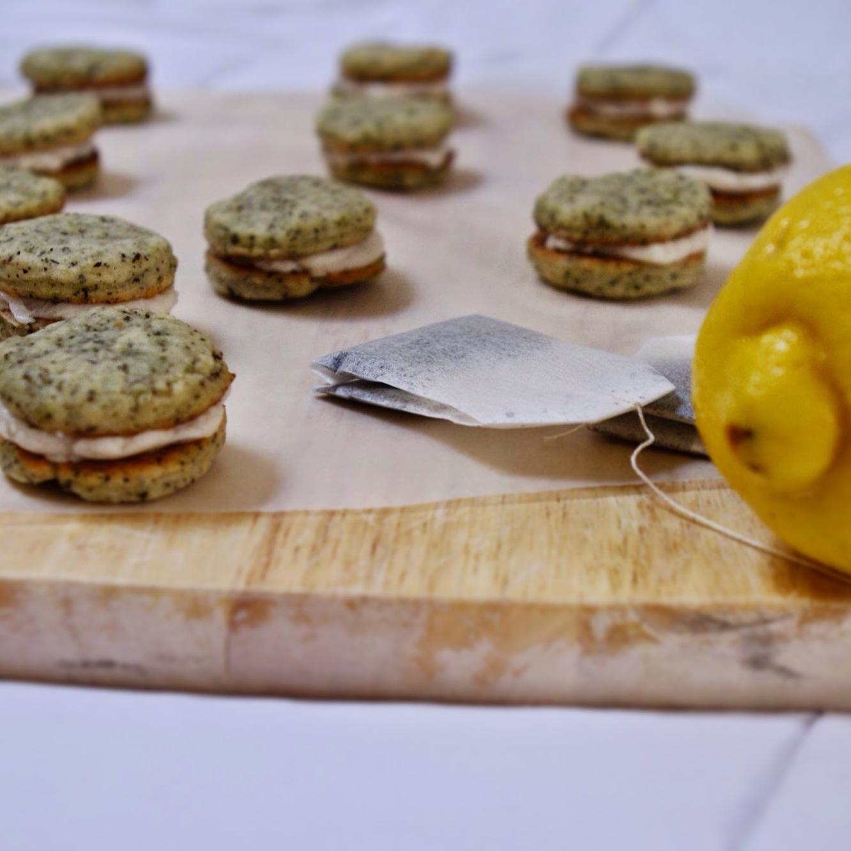 Vegan Earl Grey and Lemon Cream Cookies | The Minimalist Pantry