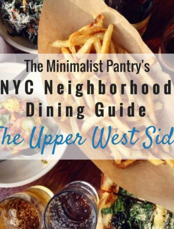 Paleo Restaurants Nyc Upper West Side